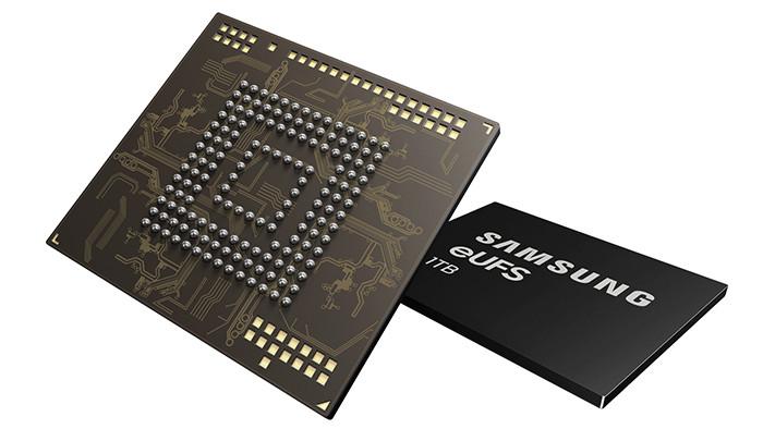 Samsung Galaxy S10 может стать первым массовым смартфоном с 1 Тбайт памяти