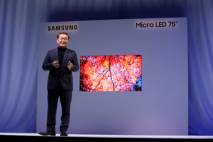 CES 2019. Samsung рассказала о телевизорах-конструкторах на основе технологии Micro LED