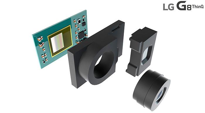LG G8 ThinQ получит необычную фронтальную камеру с высокоточной системой распознавания лиц