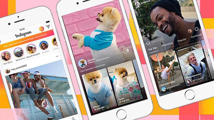 Пользователей Instagram заставят смотреть видео с IGTV