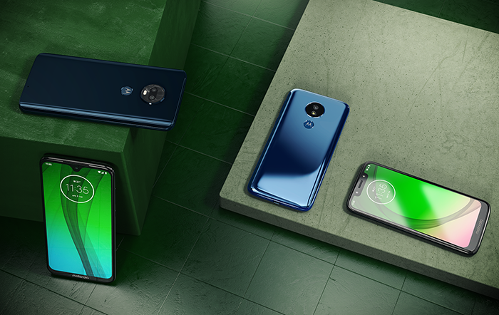 Motorola представила в России недорогие смартфоны Moto G7 с NFC, железом Qualcomm и Android 9.0 Pie