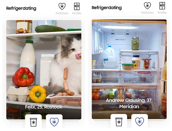 Samsung предлагает людям искать любовь в чужих холодильниках