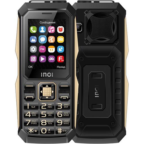 Кнопочный телефон Inoi 246Z поддерживает три SIM-карты и может работать до двух месяцев