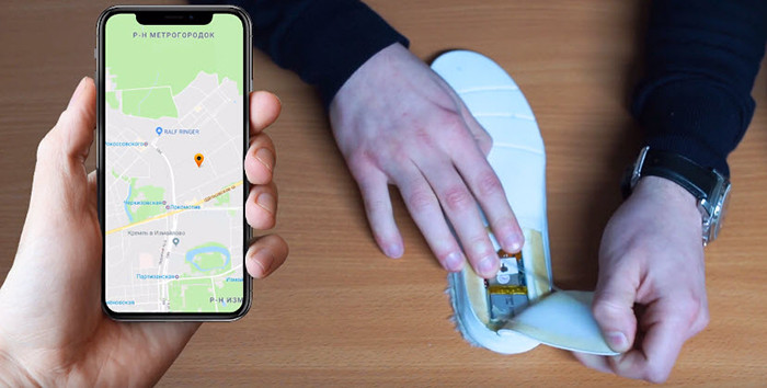 В России появились инновационные стельки для обуви с GPS