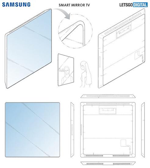 Samsung решила скрестить телевизор, планшет и зеркало