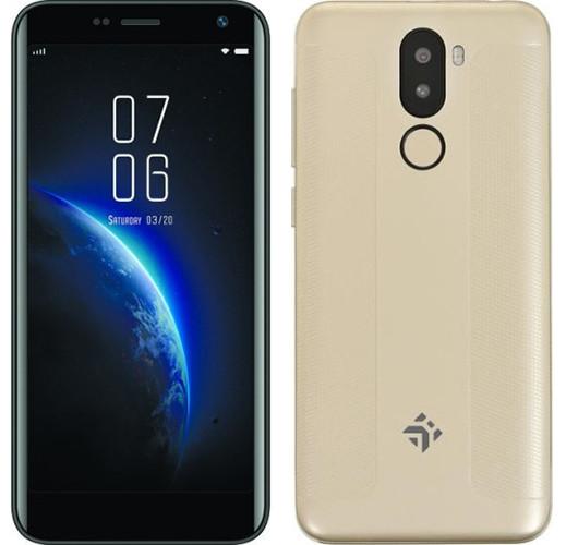 Дешевый смартфон DEXP GS150 за 4 600 рублей получил NFC и сканер отпечатков пальцев