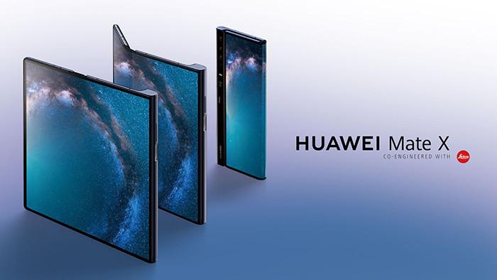 MWC 2019. Huawei показала раскладной смартфон Mate X с гибким экраном – конкурента Samsung Galaxy Fold