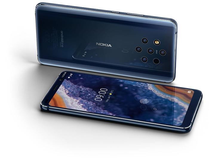 MWC 2019. Смартфон Nokia 9 PureView первым в мире получил камеру с шестью модулями