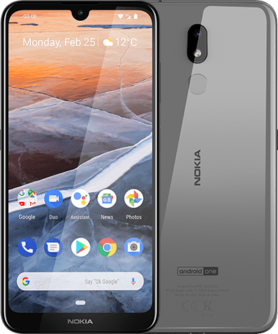 MWC 2019. Недорогой смартфон Nokia 3.2 получил аккумулятор на 4000 мАч