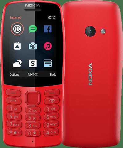 MWC 2019. Представлен кнопочный телефон Nokia 210 с камерой и музыкальным плеером