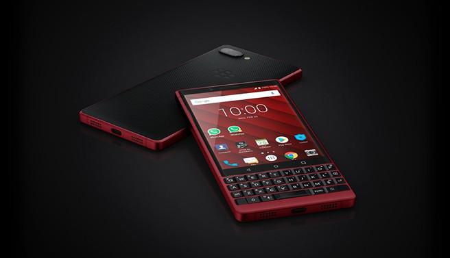 MWC 2019. Смартфон BlackBerry Key2 с QWERTY-клавиатурой получил красную версию