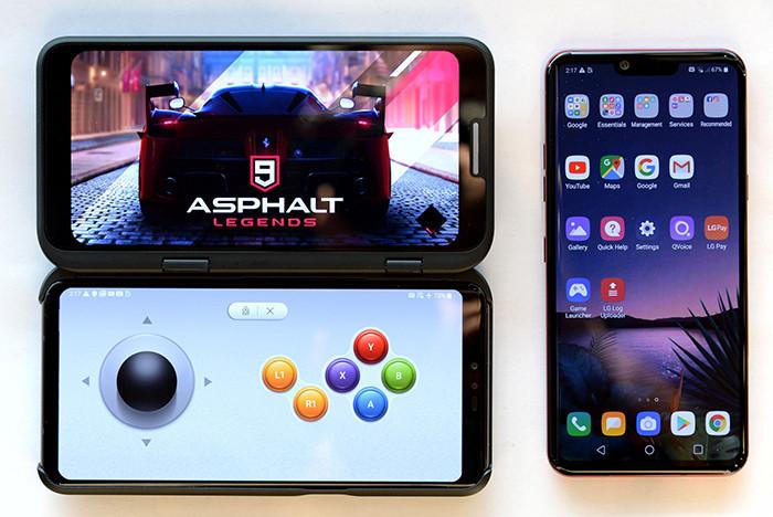 MWC 2019. Смартфон LG V50 ThinQ 5G может быть как обычным, так и раскладным двуэкранным