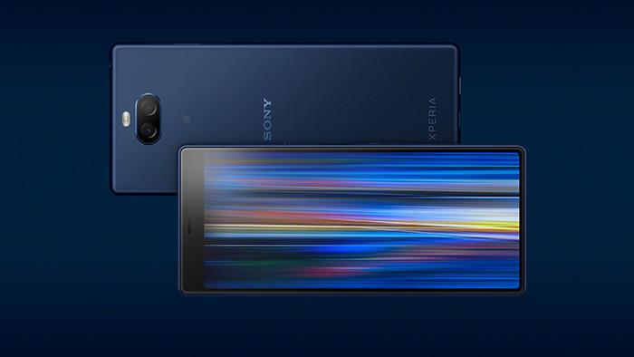 MWC 2019. Смартфоны среднего класса Sony Xperia 10 и 10 Plus получили кинематографические экраны