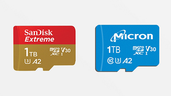 Представлены первые вмире microSD-карты на1 ТБпамяти