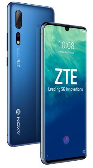 MWC 2019. Смартфон-флагман ZTE Axon 10 Pro 5G получил AMOLED-экран и аккумулятор на 4000 мАч