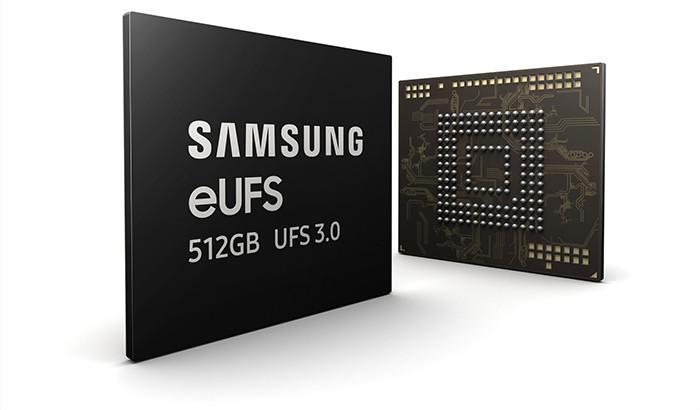 Новая память Samsung ускорит смартфоны в два раза