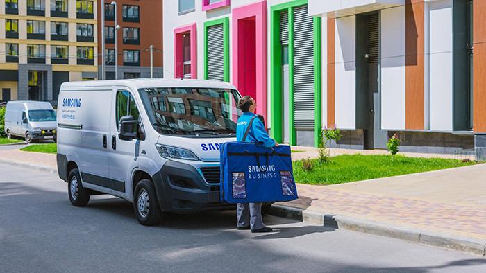 Samsung отремонтирует стиралки и телевизоры дома у россиян