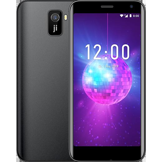 Дешевый смартфон Jinga Hit 4G поддерживает 4G и имеет необычную заднюю панель