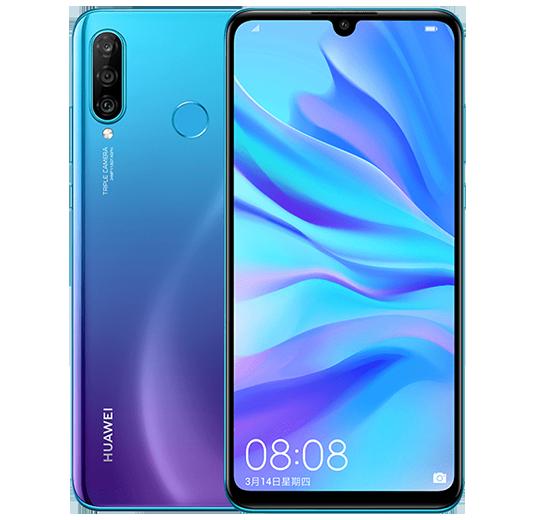 Представлен смартфон среднего класса Huawei Nova 4e с тройной задней камерой. Он же будет продаваться как Huawei P30 Lite