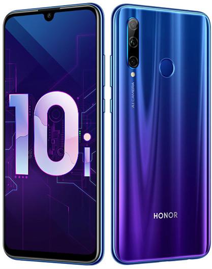В России представили смартфон Honor 10i с NFC и тройной задней камерой