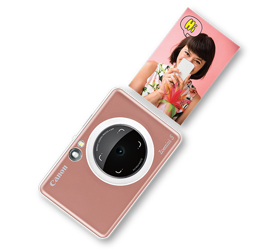 Canon представляет две яркие камеры серии Zoemini с функцией моментальной печати