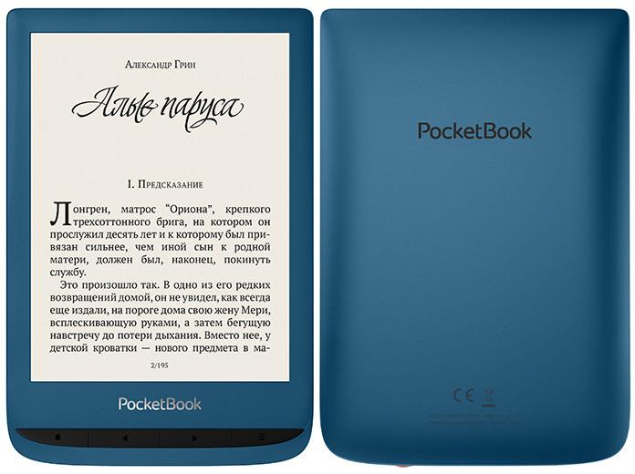 Ридер PocketBook 632 Aqua с экраном E Ink не боится воды и позволяет менять цвет подсветки