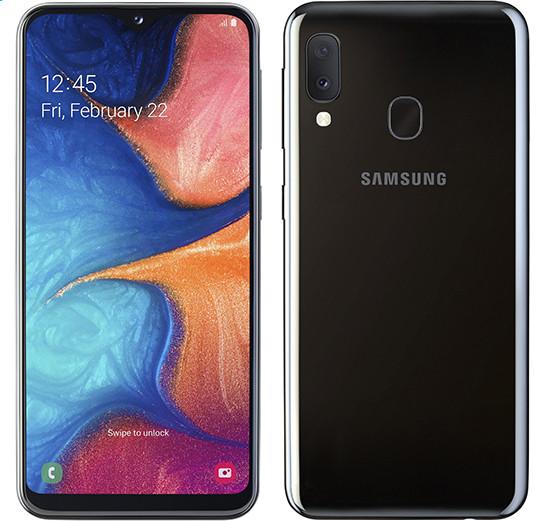 Недорогой смартфон Samsung Galaxy A20e получил быструю зарядку и двойную заднюю камеру