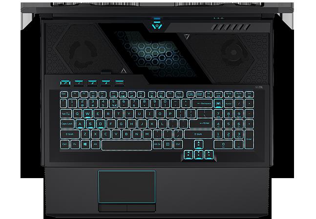 Acer анонсировала необычный игровой ноутбук с выдвижной клавиатурой за 200 тысяч рублей