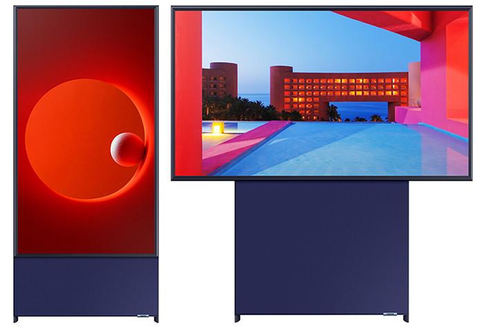 Samsung разработала вертикальный телевизор для любителей инстаграма