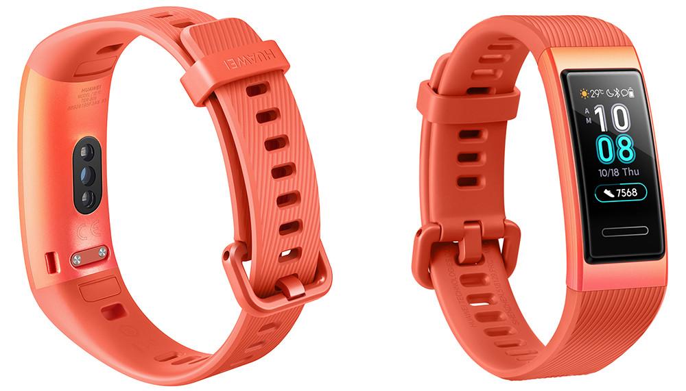 Huawei представила в России фитнес-браслет Band 3 с функциями мониторинга пульса и сна