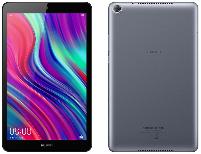 В России представлен металлический планшет Huawei MediaPad M5 Lite 8 с динамиками Harman Kardon