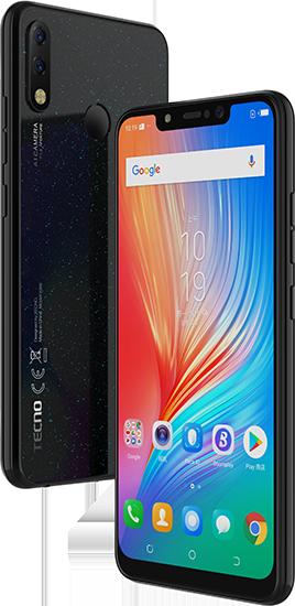 Начались продажи недорогих смартфонов Tecno Spark 3 Pro и Pop 2s с 32 Гбайт памяти и Android 9.0 Pie