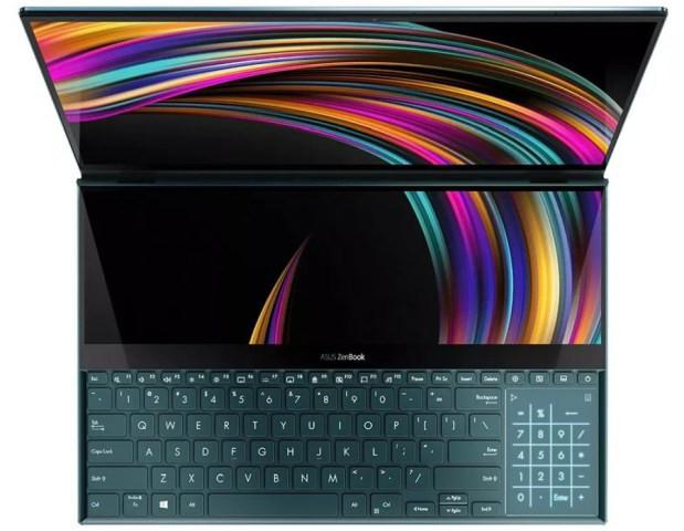 ASUS первой в мире оснастила ноутбук сразу двумя 4K-экранами