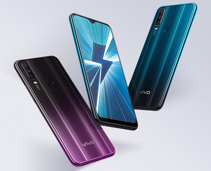 Названа российская цена смартфона Vivo Y17 с аккумулятором на 5000 мАч