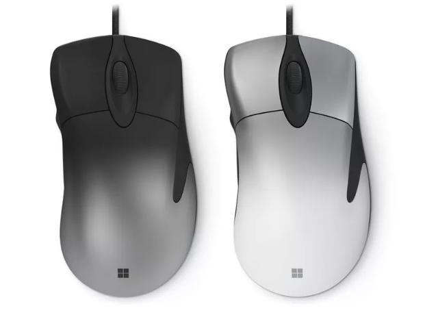 Microsoft возродила культовую мышь 1996 года и наделила ее геймерскими опциями