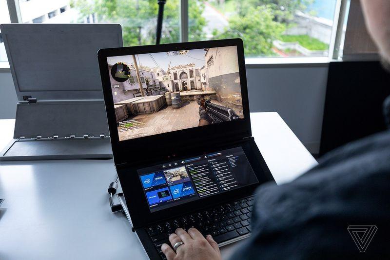 Intel показала игровой ноутбук будущего