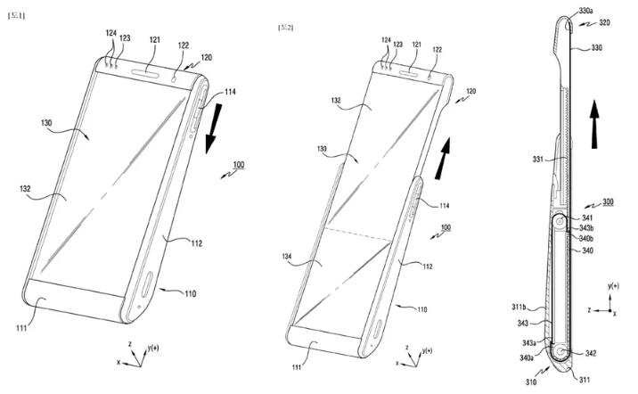 В Samsung придумали смартфон с экраном, способным сворачиваться в рулон