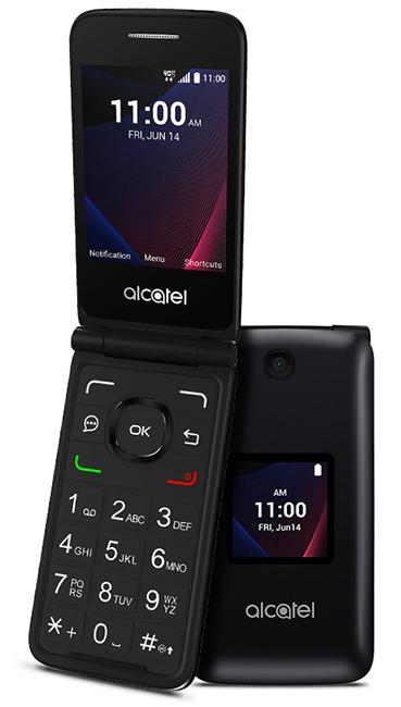 Кнопочный раскладной телефон Alcatel Go Flip V получил ОС Android и функцию LTE-роутера