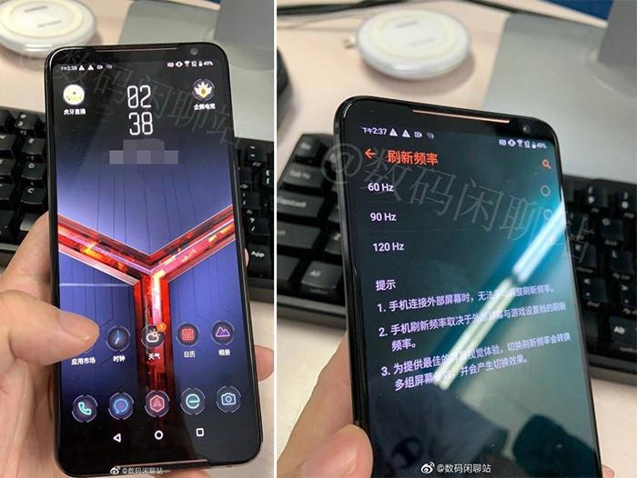 Опубликованы фотографии ASUS ROG Phone II – геймерского флагмана с необычным экраном
