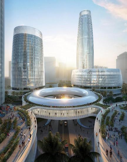 Oppo займется разработкой смартфонов в 250-метровой стеклянной башне