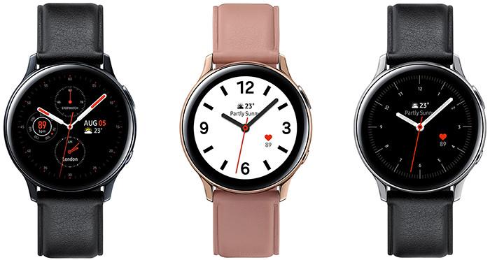 Премьера: Умные часы Samsung Galaxy Watch Active 2 лишились безеля и научились делать кардиограмму