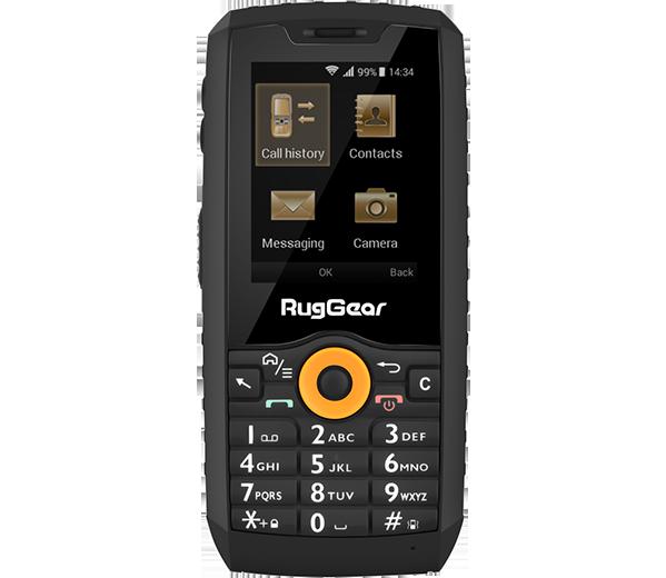 Премьера: Представлен дешевый кнопочный телефон с ОС Android и защитой от воды и ударов