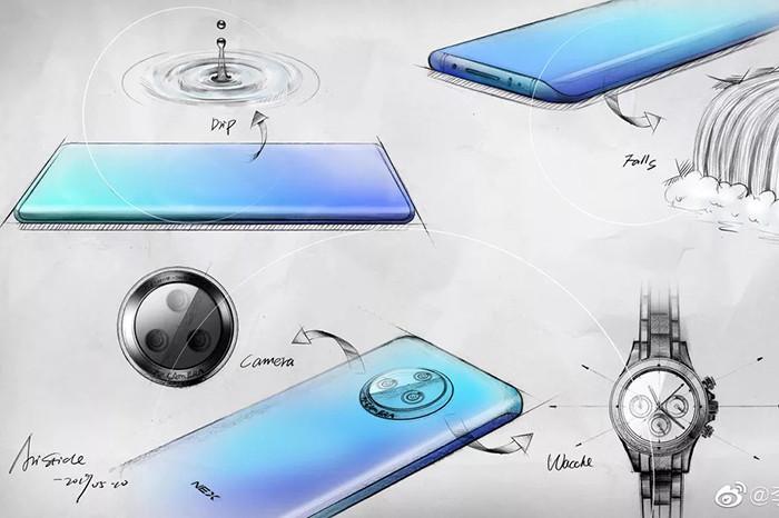 Vivo рассказала о NEX 3 – своем очередном «смартфоне будущего»
