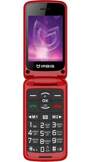 Премьера: В России представили раскладной кнопочный телефон Irbis SF71 с большим экраном