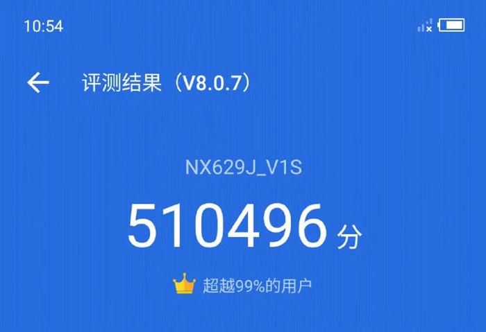 Китайский смартфон набрал полмиллиона баллов в AnTuTu и установил мировой рекорд