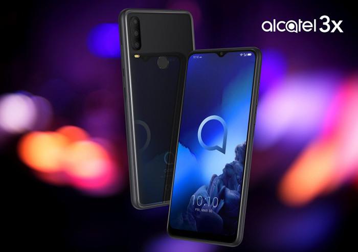 IFA 2019. Представлены простые и дешевые смартфоны Alcatel 1V и Alcatel 3X