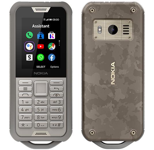 IFA 2019. Представлен кнопочный телефон Nokia 800 Tough с защитой от воды и мощным аккумулятором