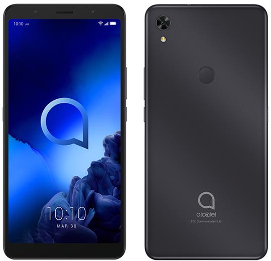 Премьера: Представлен дешевый смартфон Alcatel 3C 2019 с огромным экраном и стереодинамиками
