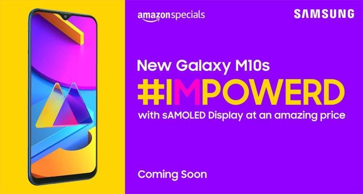 Дешевый смартфон Samsung Galaxy M10s получит большой AMOLED-экран и аккумулятор на 4000 мАч