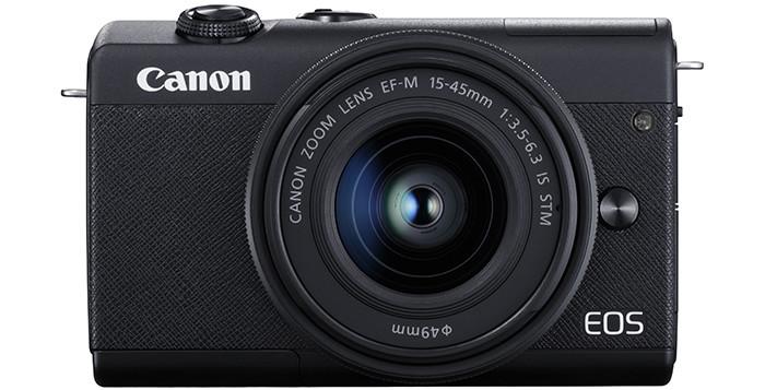 Премьера: В России представили бюджетную беззеркальную камеру Canon EOS M200 с отделкой из кожи